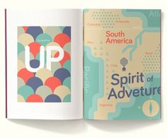 booklet LH: LOVE COLOR SCHEME FOR MAP & Guide #font #bariol #pixar