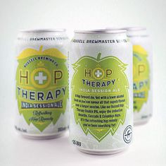 Russell Hop Therapy Cans #packaging #beer