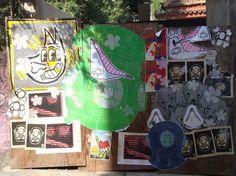 COLETIVO GRAFICO #streetart #cartaz #rafo #mga #coletivo #poster #birita #grafico