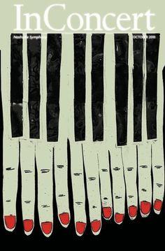Baubauhaus. #music #piano #concert #poster