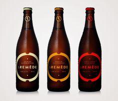 Le Remède Louis Beaudoin #packaging #beer #branding