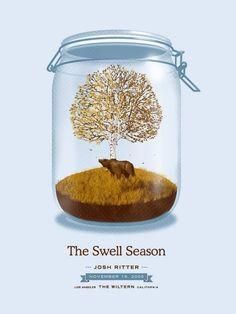 2009 Poster Design on the Behance Network #studios #tree #jar #bear #dkng