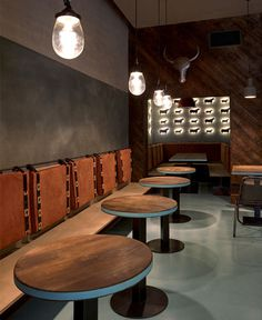 Gran Fierro Restaurant by Formafatal - restaurant, restaurant design, restaurant decor, retail design, #restaurant