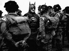 SUPER HERO on the Behance Network #ww2 #army #war #military #batman