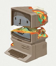 supersonic electronic / art Sachin Teng. Tumblr #retro #macintosh #mac