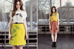 pitchouguina yelena bryksenkova #fashion #print #illustration