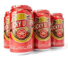 Breckenridge Lucky U IPA #packaging #beer #can #label