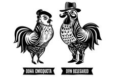 Don Belisario Restaurant Logo and Identity #ff