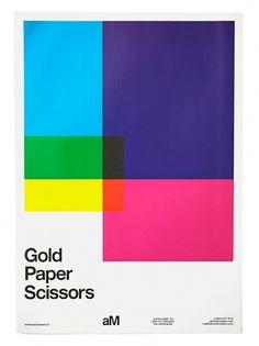 almost Modern : Gold Paper Scissors