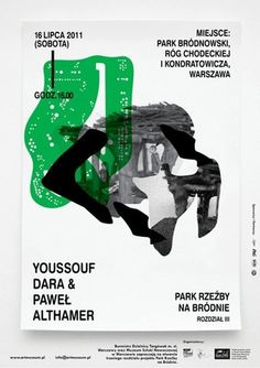 FFFFOUND! | All sizes | The Museum of Modern Art in Warsaw / sculpture park III poster v2 | Flickr - Photo Sharing! #print #poster #typography