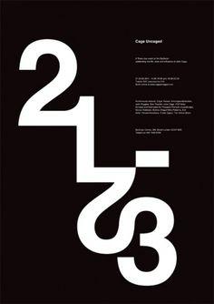 Cage Uncaged - Jacek Rudzki portfolio #poster #typography