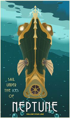 They are finally finished - solar system travel posters - ConceptArt.org Forums #travel #poster
