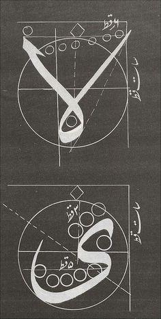 arabic glyphsgrid by Mansur Safiullin #mansur #safiullin