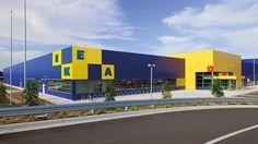 Rethinking IKEA's logo on Behance