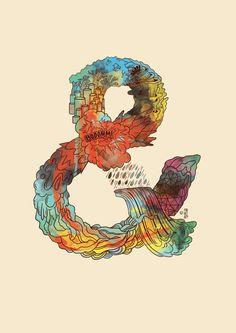 Ampersands *NEW* : Trabalho de Francisco Martins #ampersand #line