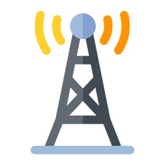 See more icon inspiration related to antenna, wifi signal, wireless internet, radio antenna, wireless connectivity, communications, electrical and technology on Flaticon.