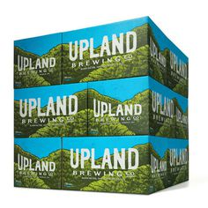 Upland Brewing Cases #packaging #beer