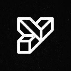 YIPPIEHEY #logotype #icon #mcescher #icons #escher #logo #3d #mc
