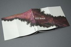 Flex Death on Behance #cover #novel #nature #purple