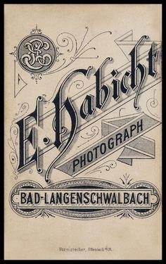 E. Habicht | Sheaff : ephemera