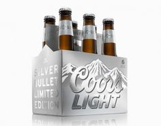 Coors Light Special Edition Packaging #packaging #beer