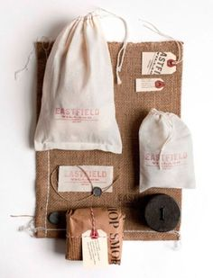 http://quesabroso.tumblr.com/post/12716642777 #packaging #strings #bags