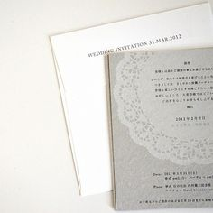 portfolio / wedding invitation #invitation #design #graphic #letter #press #wedding