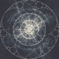 Fractal Experience on the Behance Network #circle #experiment