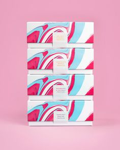 Costello & Hellerstein on Behance #costello hellerstein #packaging #chocolate #abstract #water color