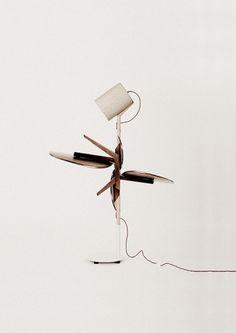 Editorial - La Nouvelle #interior #lamp #sofa #imbalance #design #stool #wood #furniture #typography