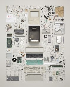 TODD MCLELLAN MOTION/STILLS INC • Things Come Apart #computer #apart