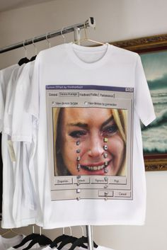 onlinecred: YtinifninfinitY — LILO Intel #cool #t #shirt #digital #crying