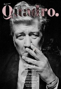 M—B Type & Design #poster #david lynch