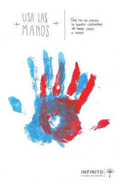 (5) Afiches #a #mano #hecho #handmade #hands