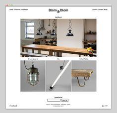 Blom & Blom #website #layout #design #web