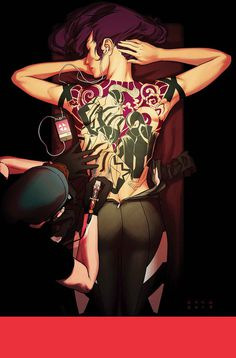 X__X • 死 者 の 顔 • - Kris Anka #comic #tattoo #girl