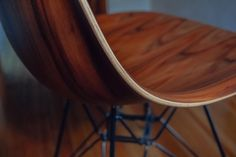 Eames Molded Wood Chair. One of my personal chairs.