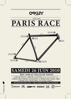 BLOG FIXÉ MAGAZINE: PARIS RACE 3, c'est parti !!!! #paris #fixie #fixed #event #gear #poster