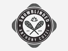 AlpinaLuna | pedalr.com #logo #design #snowblinded #branding