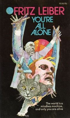 you%27re+all+alone.jpg (381×640) #book #cat #leiber #cover #alone