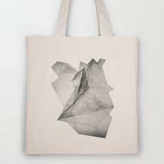 triangle Tote Bag #bag #triangle