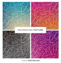 Gradient swirl background texture set http://bit.ly/29kp5yO