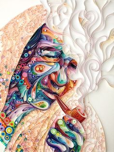 Yulia Brodskaya paper art7 #craft #illustration #paper