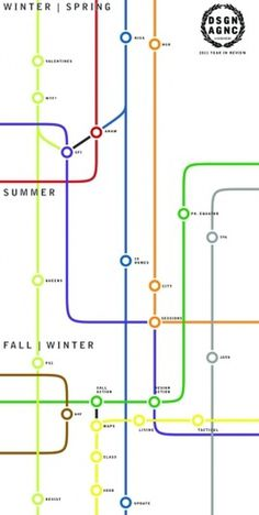 All sizes | DSGN AGNC 2011 Diagram | Flickr - Photo Sharing! #subway #graphic #timeline