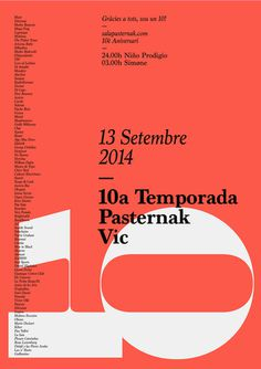 10pasternak poster by quim marin #quim #marin