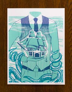 FPO: Stowaway Poster #illustration