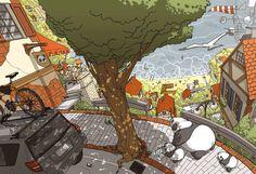 Digital Illustration by Igor Wolski