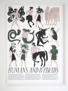 Banquet Atelier & Workshop — Humans and Hybrids Print