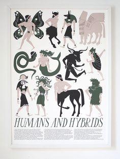 Banquet Atelier & Workshop — Humans and Hybrids Print