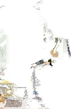 Stephen Vuillemin / acevee #animation #hipster #dance #illustration #sound #gif #music #editorial